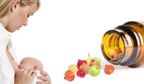 Кормящая мама, овощи и фрукты из баночки для лекарств
