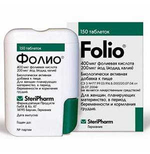 Упаковка препарата Фолио