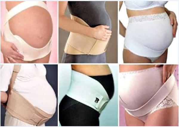 Виды бандажа для беременных
