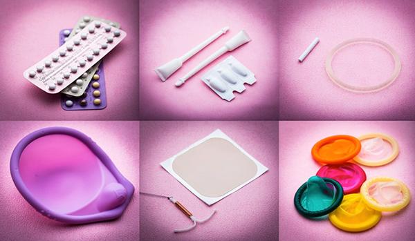 6 видов контрацептивов