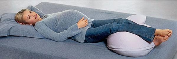 Беременная отдыхает