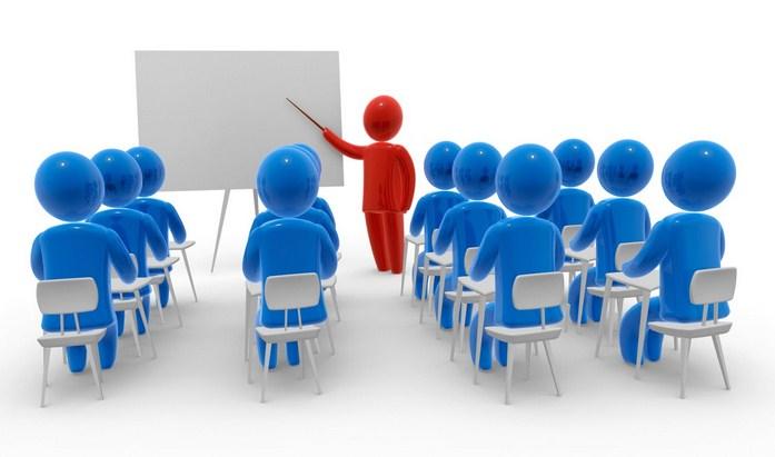 Человечки на лекции