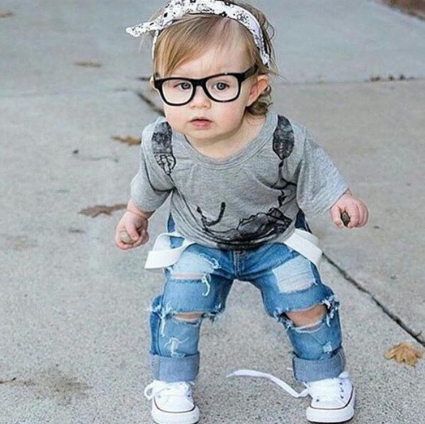 Модная девочка