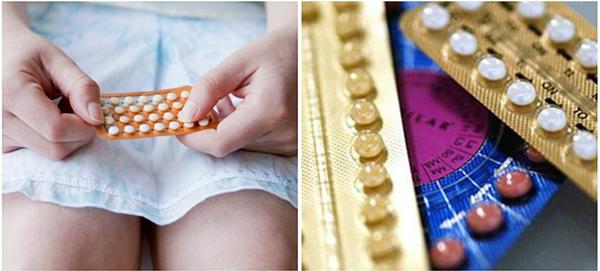 Таблетки в руках девушки